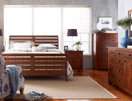 Kincaid Furniture Homecoming Vintage Cherry Bedroom Collection offers  comfort with modern functionality  Crafted of solid cherry with features  such as. 63 best Furniture  Kincaid solid wood images on Pinterest