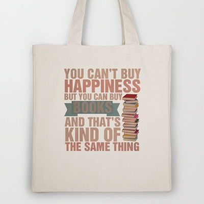 Books Tote Bag by thespngames - $18.00
