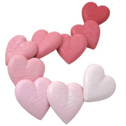 Heart Polycarbonate Chocolate Mold, 9 Cavity @ Fancy Flours