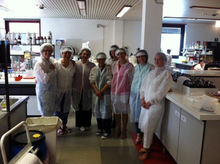 Week 1 Day 5 - visita alla ICR di Lodi