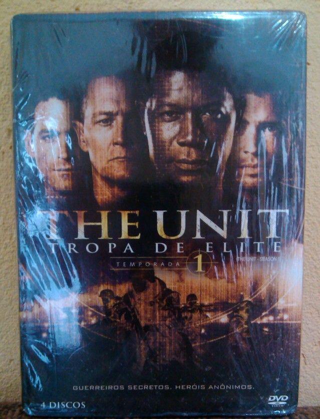 Tropa de Elite ( The Unit) 1ª Temporada BOX 4 DVDS