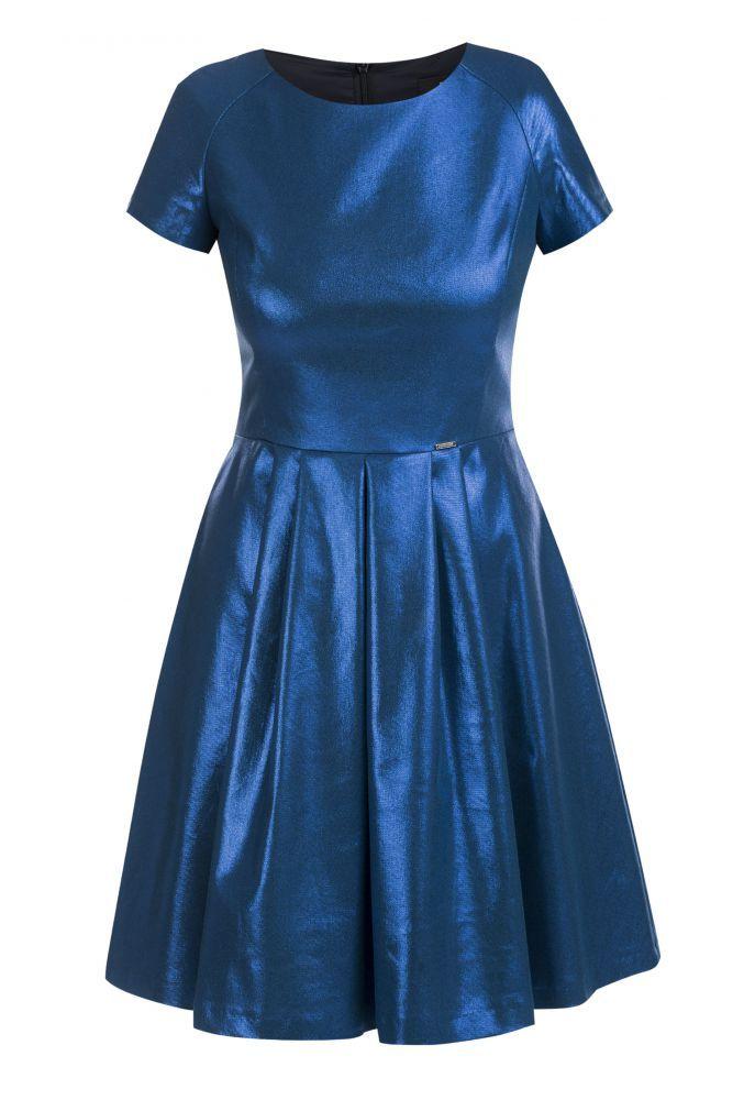 Sukienka z księżycowym połyskiem