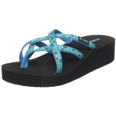 Teva Women's Mandalyn Wedge Ola Flip Flop
