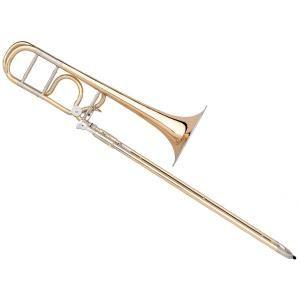 "Bb/F Slide Trombone B&S Meistersinger MS14K-L ""Stölzing"" Nickel silver garland"