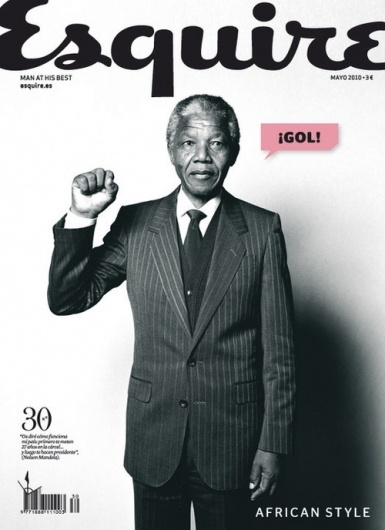 #cover Esquire #magazine (spain) feat. Mandela