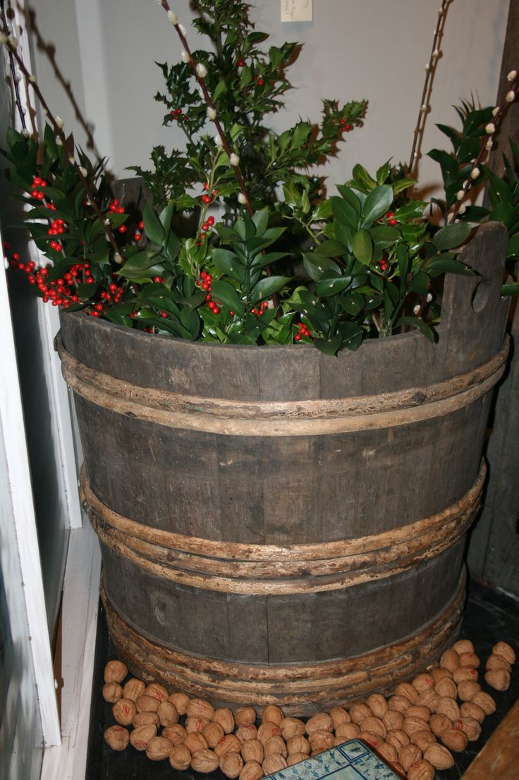 Christmas planter circa 1930s