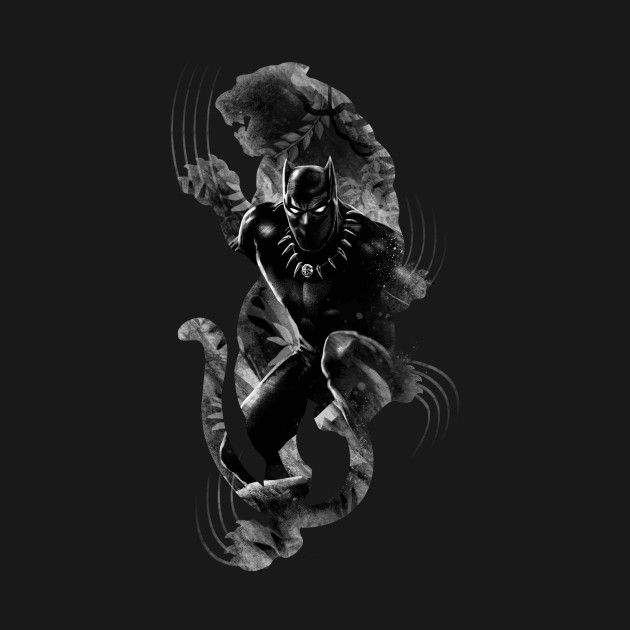 Awesome 'Black+Panthera' design on TeePublic!