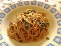 Vita Frugale: Spaghettini con foglie di barbabietola e panna