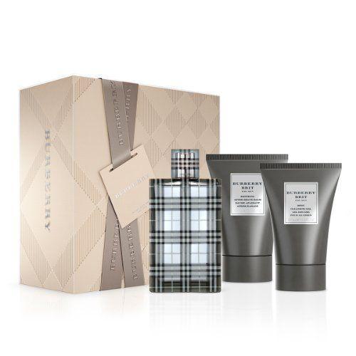 BURBERRY Brit for Men Gift Set - http://www.theperfume.org/burberry-brit-for-men-gift-set/