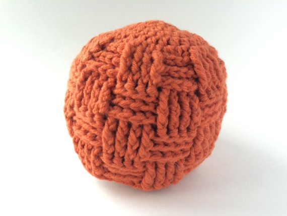 Size 3 9 Month Orange Woven Beanie by hunnibeecrafts on Etsy