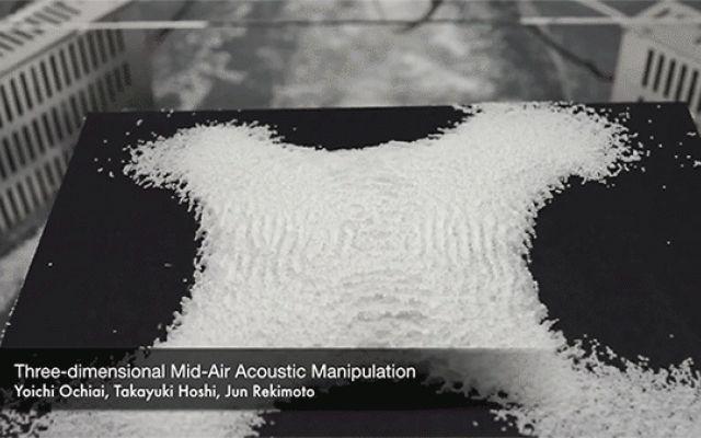 Volare con la musica non è più solo una metafora! con la levitazione acustica e il Tractor Beam #applicazioni #grafiche #blog #fotografia