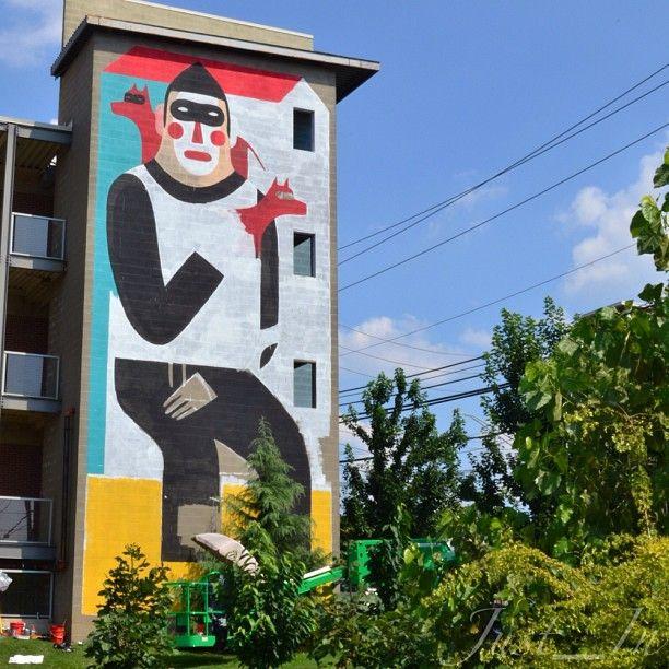 Living Walls 2013. Murals across Atlanta, Decatur, East Point