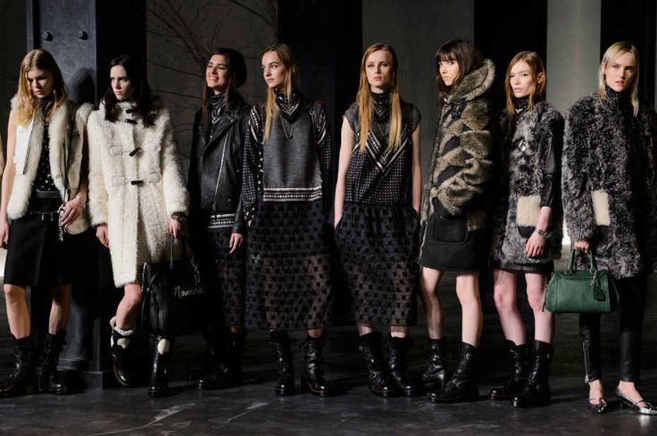 Stuart Vevers presented his third ready-to-wear collection for Coach in Manhattan on Thursday. Photo: Imaxtree