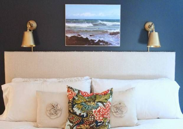 Navy And Gold Bedside Lamps: Best 25+ Bedroom Sconces Ideas On Pinterest