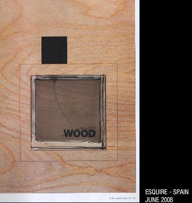 wood DSQUARED
