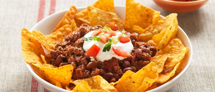 Chilli Bean Nachos recipe from Food in a Minute