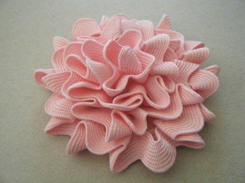 easy ric rac flower