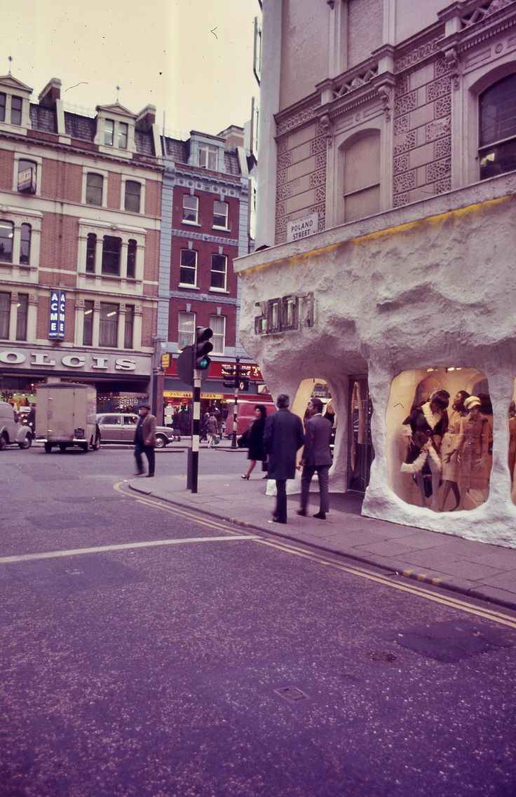 Poland Street, 1971. London