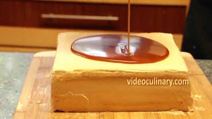 Caramel Glaze for Cakes - Recipe by VideoCulinary.com