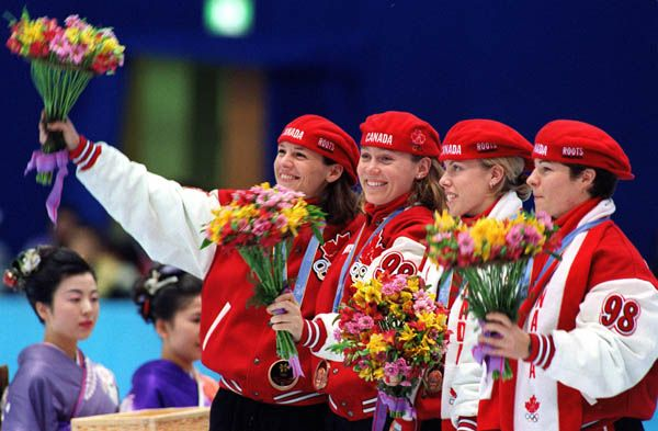 Both men and woman began competing in short track speed skating in 1992. Annie Perreault became one of the most decorated female Winter Olympians that Canada has ever known by winning the 500m gold medal in Nagano and teaming up with Isabelle Charest, Tania Vicent and Christine Boudrias to win a bronze medal in the 3,000m relay.