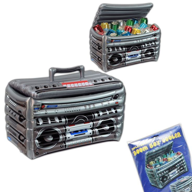 Boom Box Inflatable Cooler