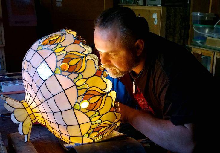 #glassatelier , #lampa ,