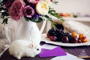 Фиолетовая свадьба Светланы и Никиты