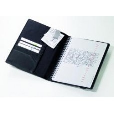 Troika A5 Leather Notebook, Midnight $89.95 - A stylish compendium designed to keep you organised.