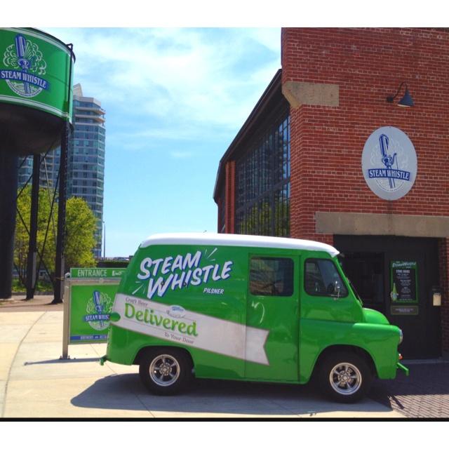 Tour Toronto's Steam Whistle Brewery.