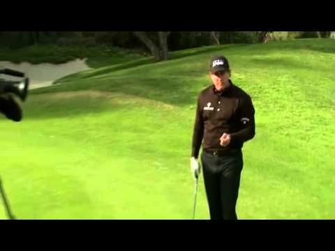 Phil Mickelson - How to hit Lob Shot off a tight lie.