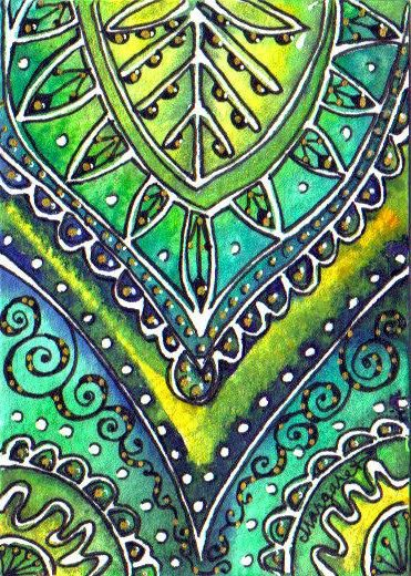 BATIK - Silk Sari