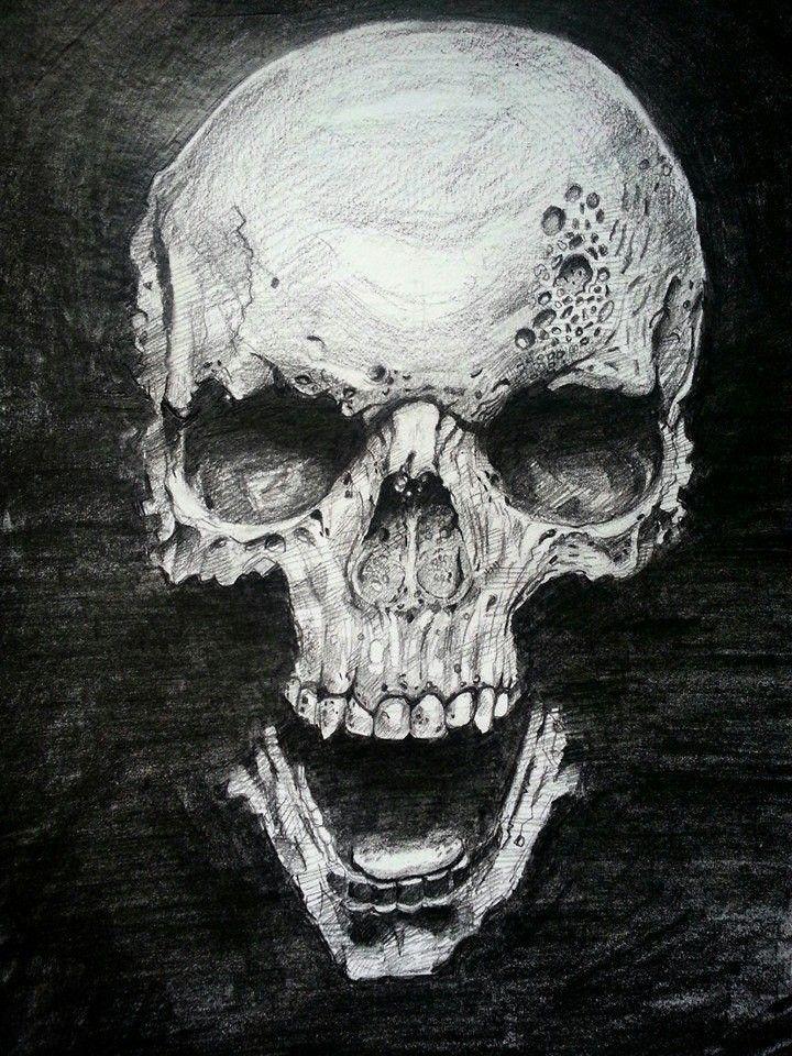 skull, jishnu k on ArtStation at https://www.artstation.com/artwork/ODbKe