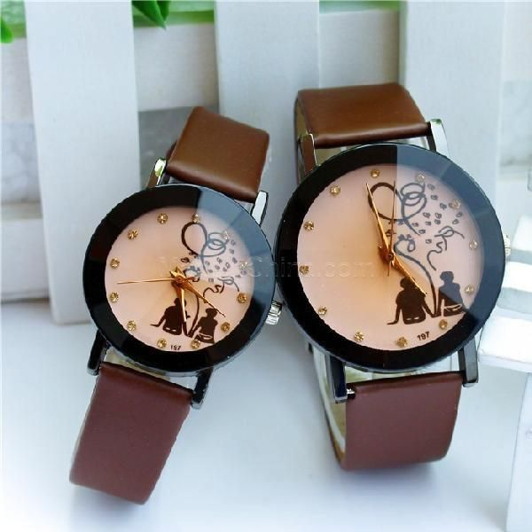 30% off! Korean new fashion couple watches, can mix and match colors S Coffee #madeinchina #watches >http://dxurl.com/RVSP