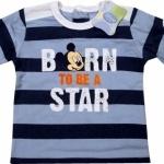 Alege Bluza Mickey - Baby906 A (Haine copii cu personajul Mickey , 5-6 luni, bluze)