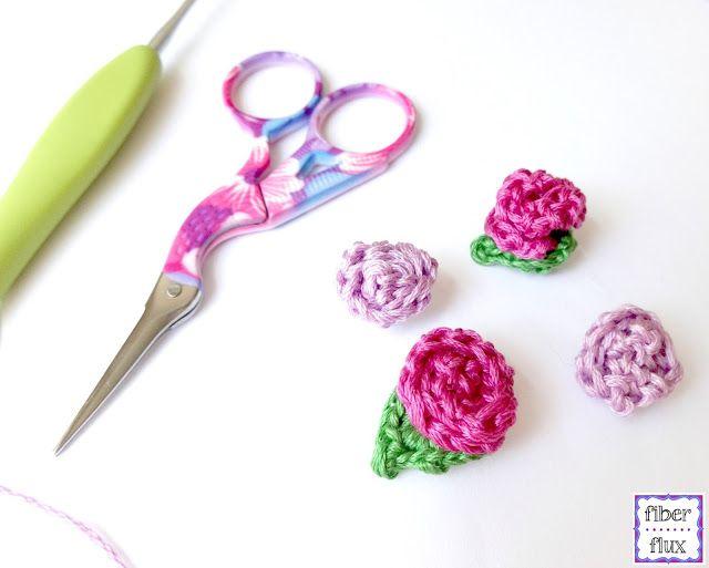 356 best ganchillo flores images on Pinterest | Flores de ganchillo ...