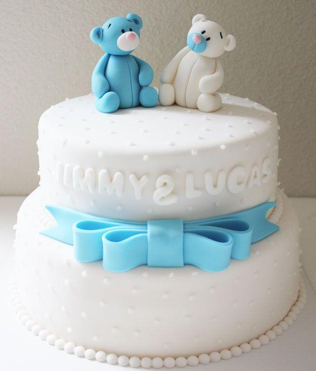 taart_cake_geboorte_baby_zwanger_buik_beertjes_strik_jongen_boy