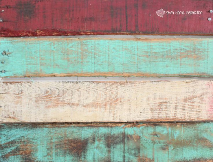 Achieving the weathered paint look is much easier than you might expect and you won't even need to leave your boards outside for years to do it!