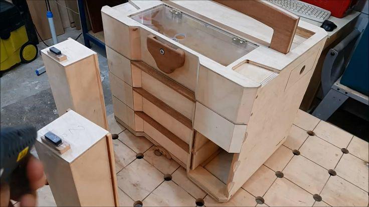 Wooden Sortainer 9 - YouTube