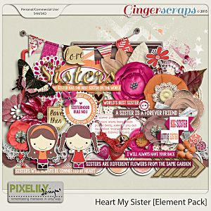 Heart My Sister [Element Pack]