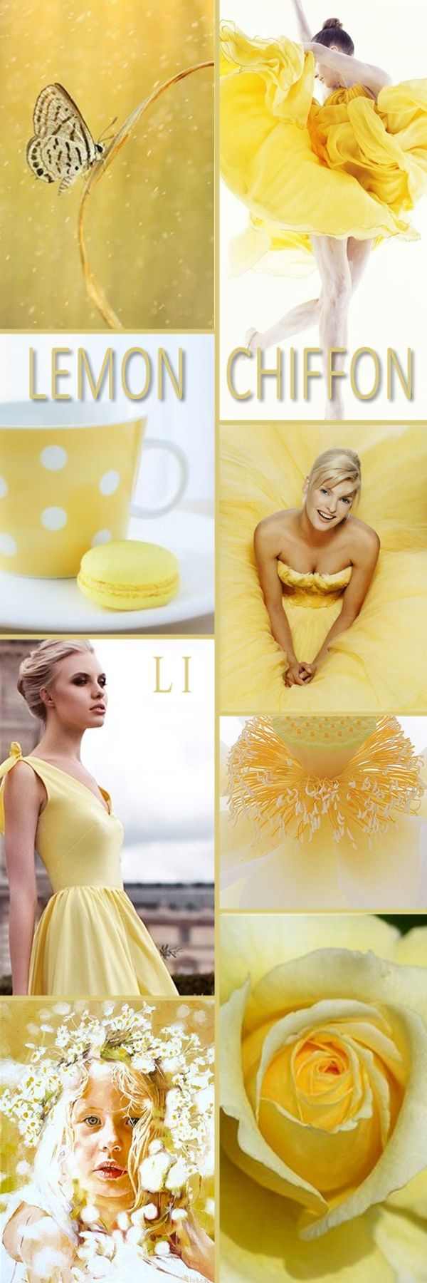 """Hello Ladies. Our next color will be """" LEMON CHIFFON """" Happy Pinning and Thanks so much ❤"""