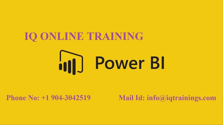 Power BI  Online Training By IT Specialists: IQOnlineTraining affords Power BI Online Training with job support. Our Power BI trainers seem with vast work experience and teaching skills. Our Power BI online training is regarded as the one of the Best online training in globally. If you want to know more information about Power BI online training course visit our website……….. http://www.iqonlinetraining.com/power-bi-online-training/ Mail id: info@iqtrainings.com Phone No: +1 904-304-2519