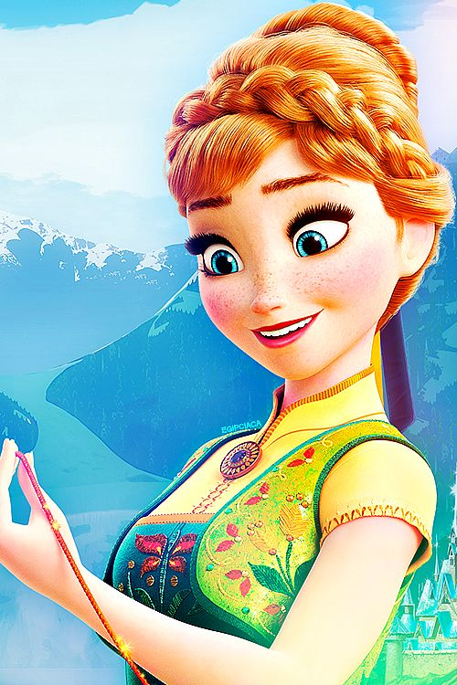 Anna!!! I love her smile and the details on her dress !! :D
