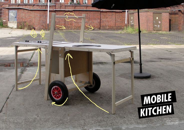 Mobile Kitchen, 2012. The Mobile Kitchen is a project developed at the Design Research Lab to meet the specific needs of Design Cities: Berl...