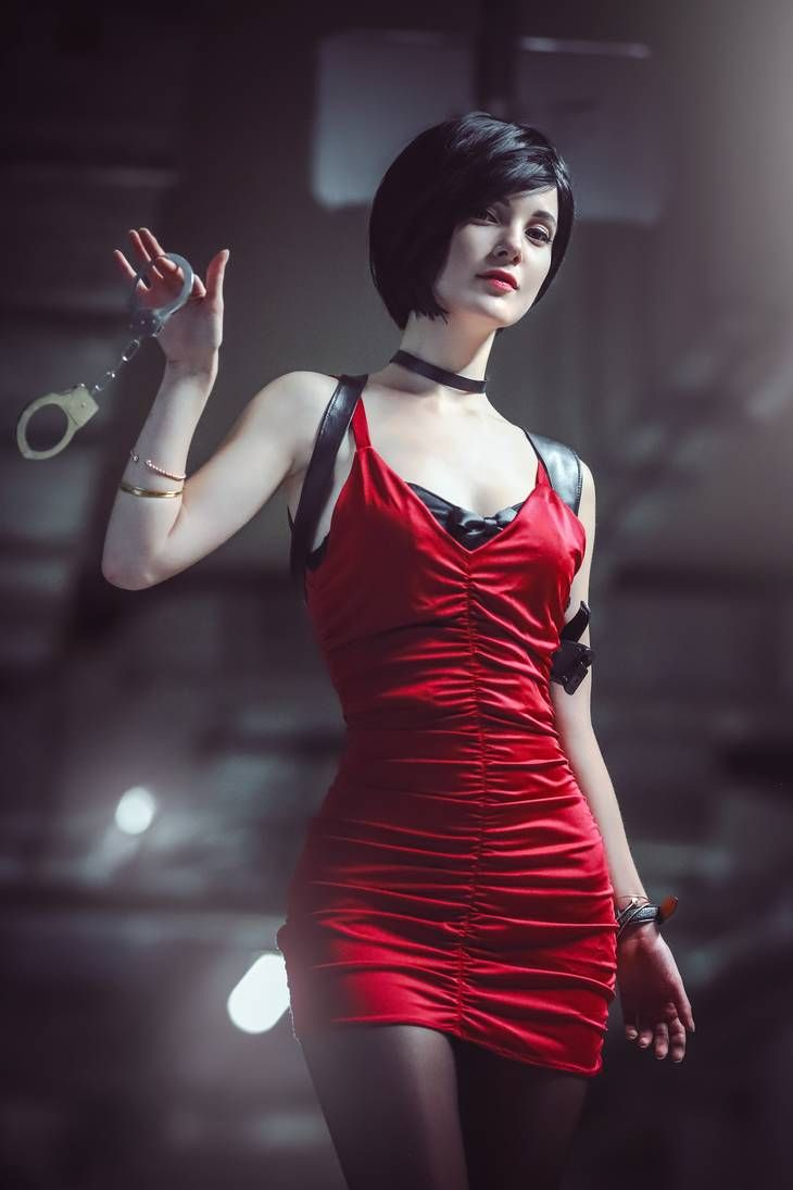 Resident Evil 2 Remake Ada Wong Cosplay By Ksana Stankevich