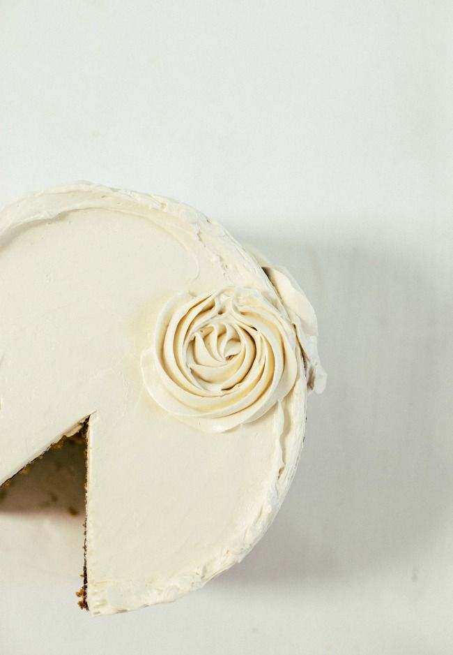 Honey Cake with Caramel Buttercream   The Vanilla Bean Blog