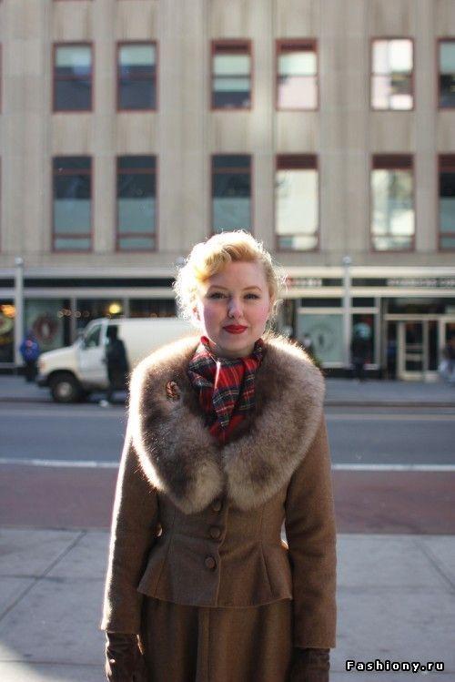 Vintage lady Johanna / винтаж макияж