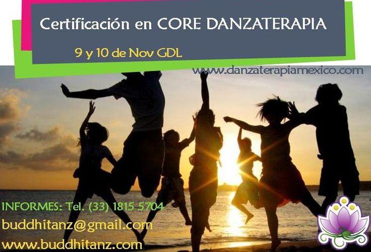 Certifícate como DANZATERAPEUTA en GDL, iniciamos 9 de noviembre http://buddhitanz.com