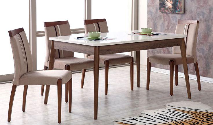 VİSAGE YEMEK MASASI TAKIMI  Uygun fiyatlı sağlam ve şık yemek masası modeli http://www.yildizmobilya.com.tr/visage-yemek-masasi-takimi-pmu4606 #moda #home #ev #dekorasyon #pinterest #masa #sandalye #takımı #yıldızmobilya #trend http://www.yildizmobilya.com.tr/
