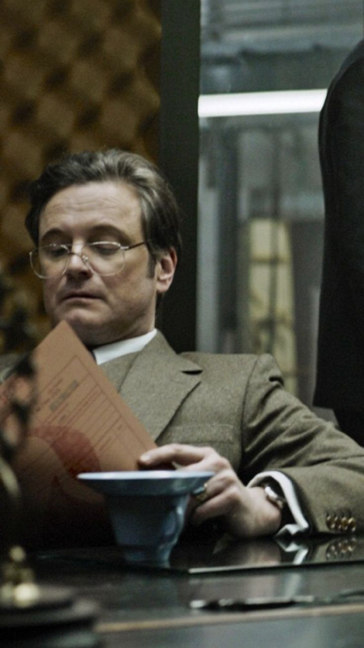 "Colin in ""Tinker - Tailor - Soldier - Spy"""