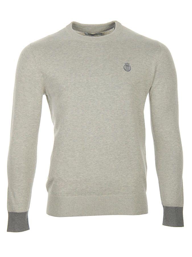 Sweter Erke M. Round-Collar
